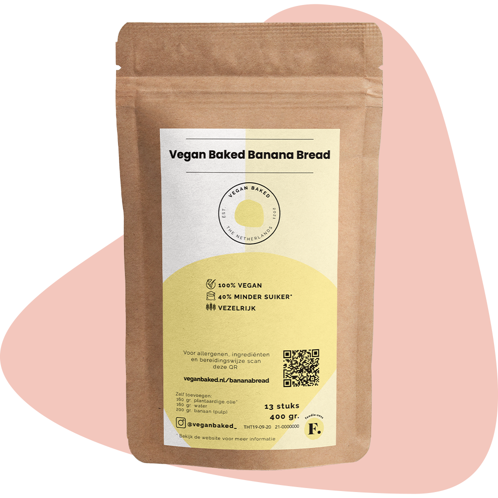 Vegan Baked Banana Bread
